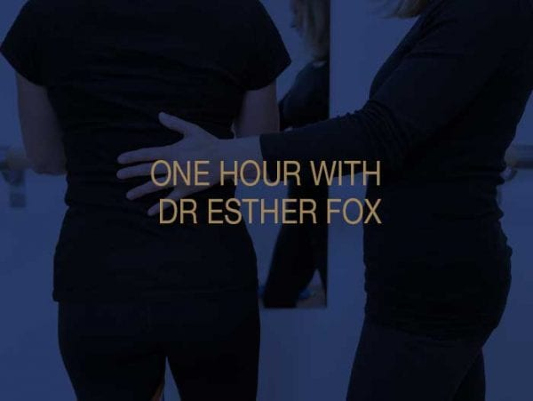 One Hour Physiotherapy appointment with Dr Esther Fox