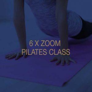 Six Zoom Pilates Classes