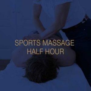 Sports Massage Half Hour