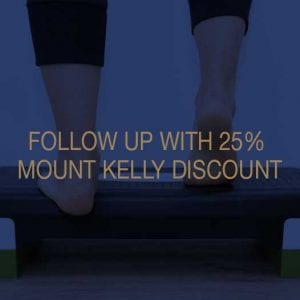 Follow Up With 25 Percent Mount Kelly Discount