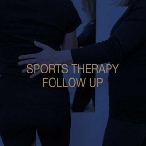 Sports Therapy Follow Up