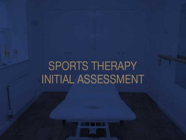 Sports Therapy Initial Assessment