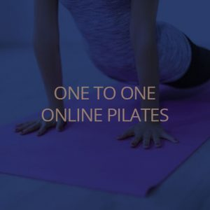 One to one online pilates