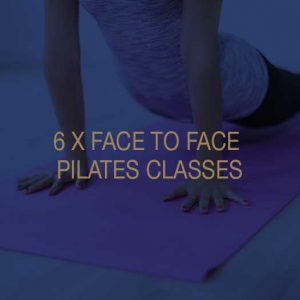 Six Face to Face Pilates Classes